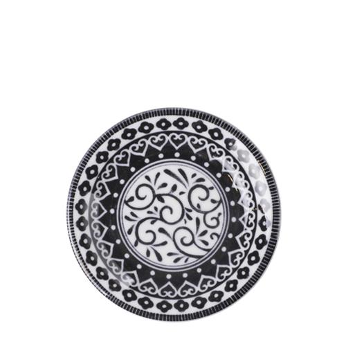 일제 프라하 접시 12cm (블랙)