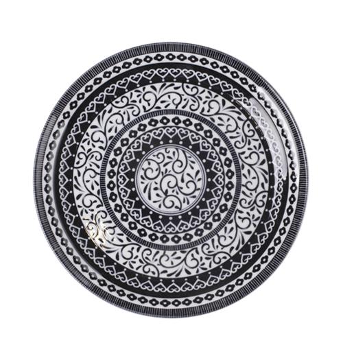일제 프라하 접시 25cm (블랙)