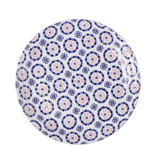 일제 프라하 접시 25cm (핑크)