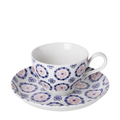 일제 프라하 커피잔세트 (핑크)