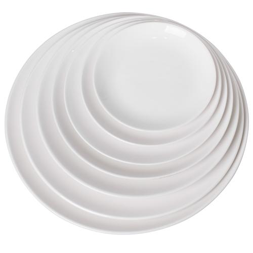 크롬 한식 원형접시 (7Size)